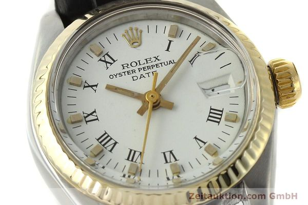 Used luxury watch Rolex Lady Date steel / gold automatic Kal. 2030 Ref. 6917  | 142980 02