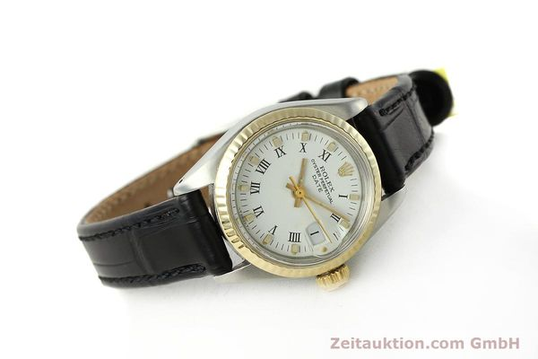Used luxury watch Rolex Lady Date steel / gold automatic Kal. 2030 Ref. 6917  | 142980 03