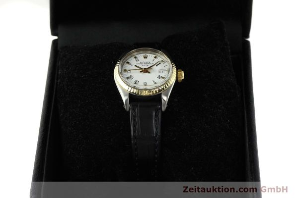 Used luxury watch Rolex Lady Date steel / gold automatic Kal. 2030 Ref. 6917  | 142980 07