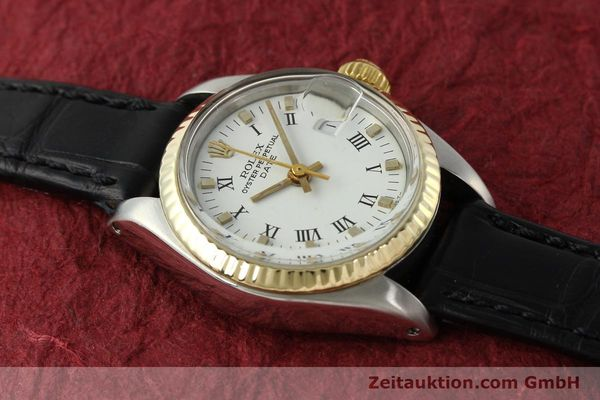 Used luxury watch Rolex Lady Date steel / gold automatic Kal. 2030 Ref. 6917  | 142980 12