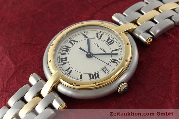 Used luxury watch Cartier Panthere steel / gold quartz Kal. 83  | 142981 01