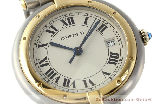 Used luxury watch Cartier Panthere steel / gold quartz Kal. 83  | 142981 02