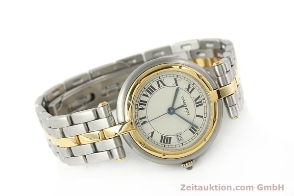 Used luxury watch Cartier Panthere steel / gold quartz Kal. 83  | 142981 03