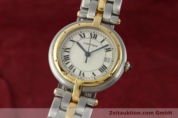 Used luxury watch Cartier Panthere steel / gold quartz Kal. 83  | 142981 04