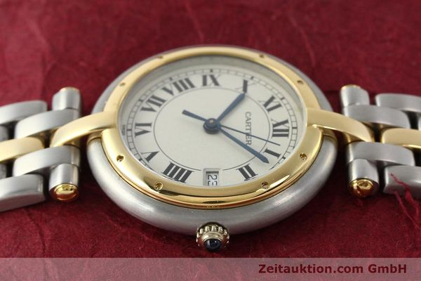 Used luxury watch Cartier Panthere steel / gold quartz Kal. 83  | 142981 05