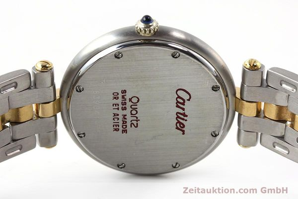 Used luxury watch Cartier Panthere steel / gold quartz Kal. 83  | 142981 09
