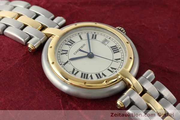 Used luxury watch Cartier Panthere steel / gold quartz Kal. 83  | 142981 12