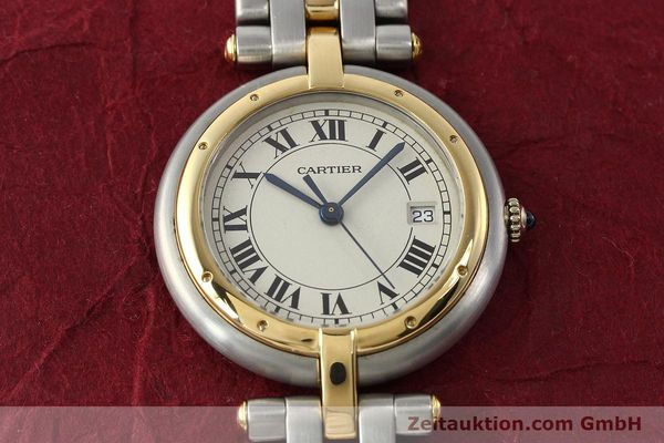 Used luxury watch Cartier Panthere steel / gold quartz Kal. 83  | 142981 13