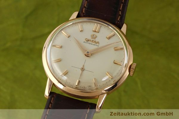 gebrauchte Luxusuhr Omega * 18k Rotgold Automatik Kal. 491  | 142984 04