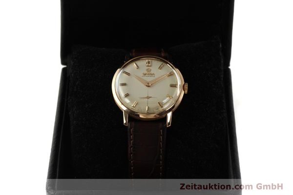 gebrauchte Luxusuhr Omega * 18k Rotgold Automatik Kal. 491  | 142984 07