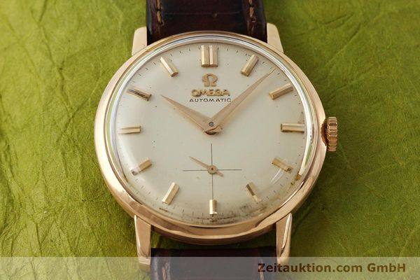 gebrauchte Luxusuhr Omega * 18k Rotgold Automatik Kal. 491  | 142984 14