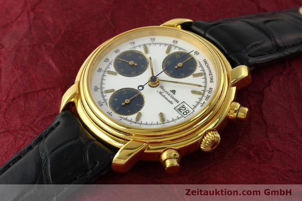 Used luxury watch Maurice Lacroix Croneo chronograph gold-plated automatic Kal. ETA 7750 Ref. 6800  | 142985 01
