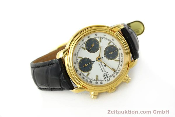 Used luxury watch Maurice Lacroix Croneo chronograph gold-plated automatic Kal. ETA 7750 Ref. 6800  | 142985 03