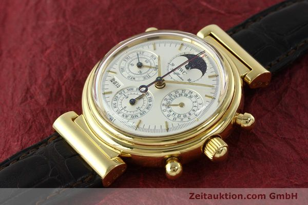 Used luxury watch IWC Da Vinci chronograph 18 ct gold automatic Kal. C.79251 Ref. 3751  | 142986 01