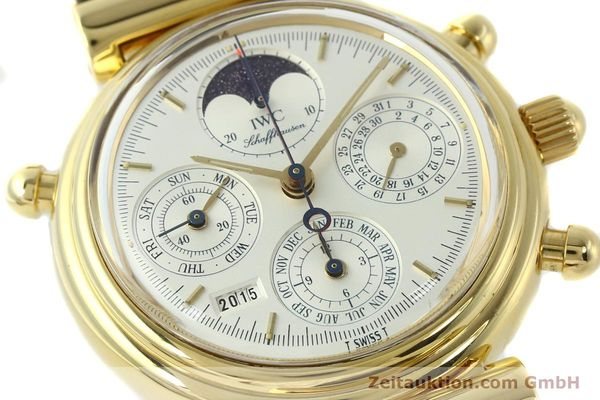 Used luxury watch IWC Da Vinci chronograph 18 ct gold automatic Kal. C.79251 Ref. 3751  | 142986 02