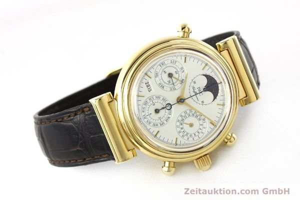 Used luxury watch IWC Da Vinci chronograph 18 ct gold automatic Kal. C.79251 Ref. 3751  | 142986 03