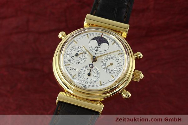 Used luxury watch IWC Da Vinci chronograph 18 ct gold automatic Kal. C.79251 Ref. 3751  | 142986 04