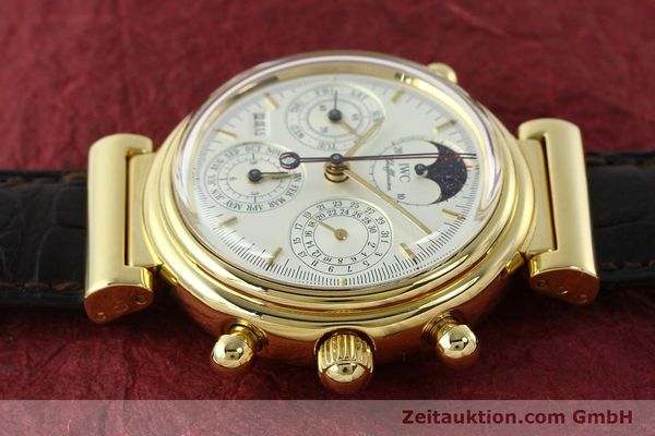 Used luxury watch IWC Da Vinci chronograph 18 ct gold automatic Kal. C.79251 Ref. 3751  | 142986 05