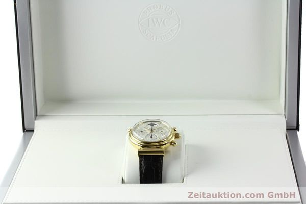 Used luxury watch IWC Da Vinci chronograph 18 ct gold automatic Kal. C.79251 Ref. 3751  | 142986 07