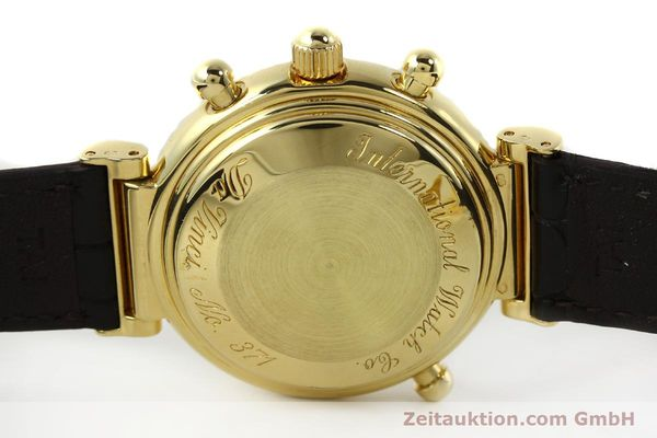 Used luxury watch IWC Da Vinci chronograph 18 ct gold automatic Kal. C.79251 Ref. 3751  | 142986 09