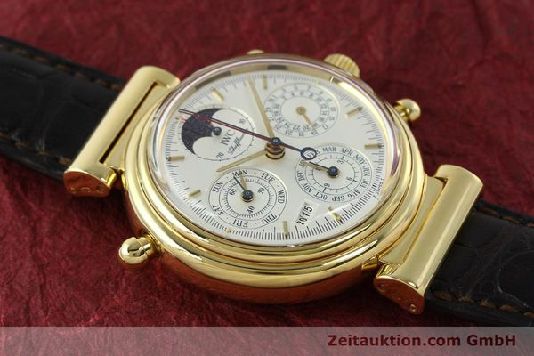 Used luxury watch IWC Da Vinci chronograph 18 ct gold automatic Kal. C.79251 Ref. 3751  | 142986 17