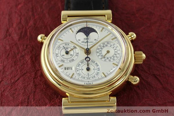 Used luxury watch IWC Da Vinci chronograph 18 ct gold automatic Kal. C.79251 Ref. 3751  | 142986 18