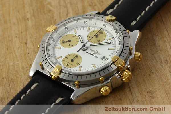 Used luxury watch Breitling Chronomat chronograph steel / gold automatic Kal. VAL 7750 Ref. 81950  | 142988 01