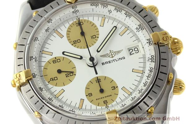 Used luxury watch Breitling Chronomat chronograph steel / gold automatic Kal. VAL 7750 Ref. 81950  | 142988 02