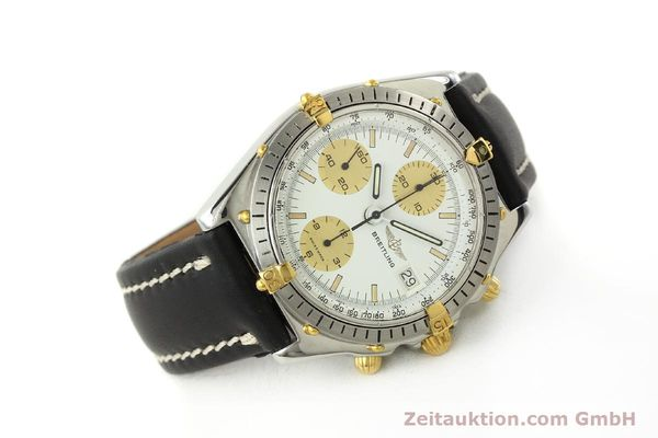 Used luxury watch Breitling Chronomat chronograph steel / gold automatic Kal. VAL 7750 Ref. 81950  | 142988 03