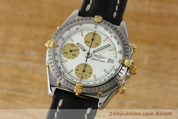 Used luxury watch Breitling Chronomat chronograph steel / gold automatic Kal. VAL 7750 Ref. 81950  | 142988 04