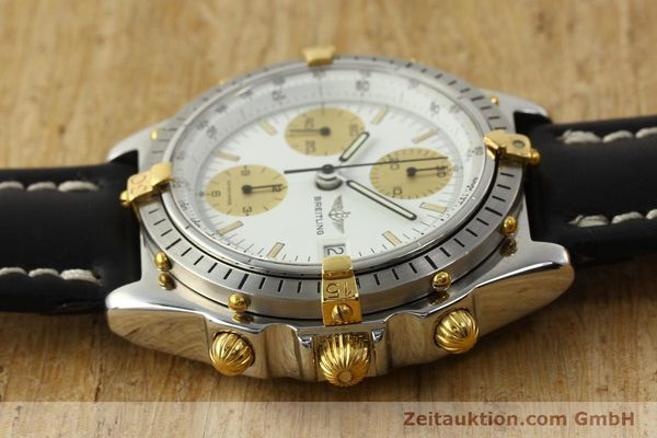Used luxury watch Breitling Chronomat chronograph steel / gold automatic Kal. VAL 7750 Ref. 81950  | 142988 05