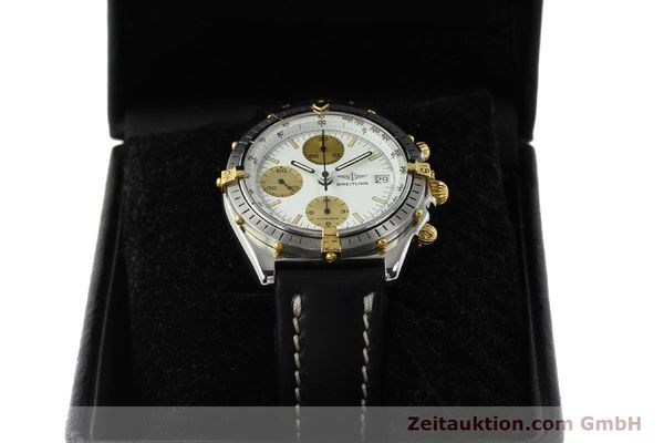 Used luxury watch Breitling Chronomat chronograph steel / gold automatic Kal. VAL 7750 Ref. 81950  | 142988 07