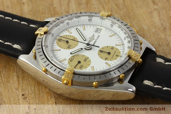 Used luxury watch Breitling Chronomat chronograph steel / gold automatic Kal. VAL 7750 Ref. 81950  | 142988 14