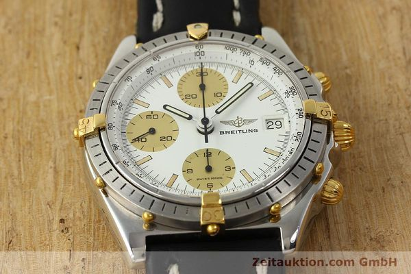 Used luxury watch Breitling Chronomat chronograph steel / gold automatic Kal. VAL 7750 Ref. 81950  | 142988 15