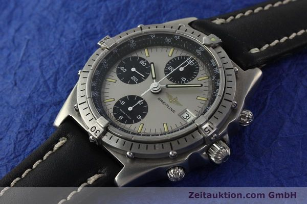 Used luxury watch Breitling Chronomat chronograph steel automatic Kal. Val. 7750 Ref. 81950  | 142991 01