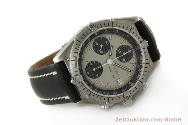 Used luxury watch Breitling Chronomat chronograph steel automatic Kal. Val. 7750 Ref. 81950  | 142991 03