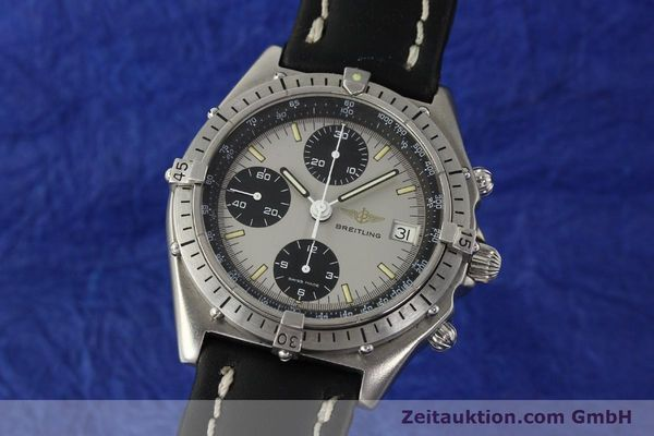 Used luxury watch Breitling Chronomat chronograph steel automatic Kal. Val. 7750 Ref. 81950  | 142991 04