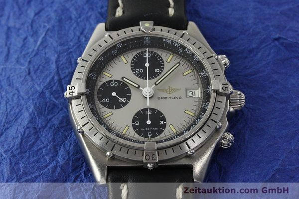 Used luxury watch Breitling Chronomat chronograph steel automatic Kal. Val. 7750 Ref. 81950  | 142991 14