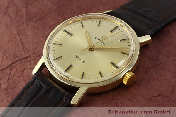 Used luxury watch Omega * 14 ct yellow gold manual winding Kal. 501 Ref. 1211  | 142996 01