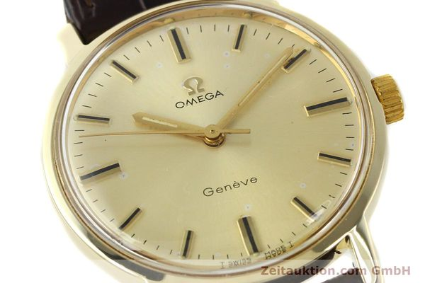 Used luxury watch Omega * 14 ct yellow gold manual winding Kal. 501 Ref. 1211  | 142996 02