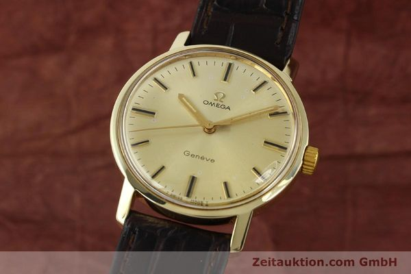 Used luxury watch Omega * 14 ct yellow gold manual winding Kal. 501 Ref. 1211  | 142996 04