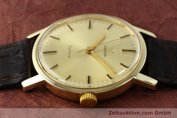 Used luxury watch Omega * 14 ct yellow gold manual winding Kal. 501 Ref. 1211  | 142996 05