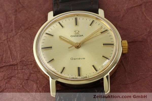Used luxury watch Omega * 14 ct yellow gold manual winding Kal. 501 Ref. 1211  | 142996 15