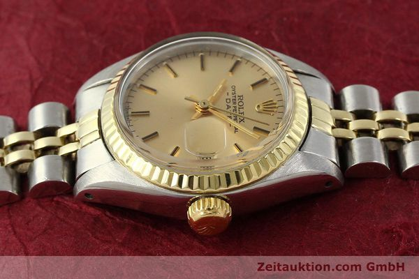 Used luxury watch Rolex Lady Date steel / gold automatic Kal. 2030  | 143000 05