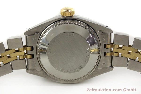 Used luxury watch Rolex Lady Date steel / gold automatic Kal. 2030  | 143000 08