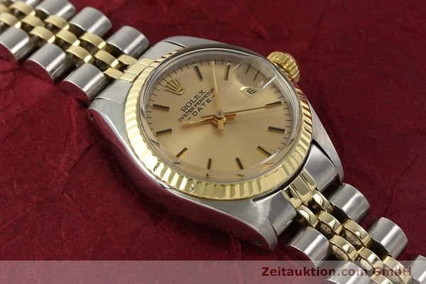Used luxury watch Rolex Lady Date steel / gold automatic Kal. 2030  | 143000 15