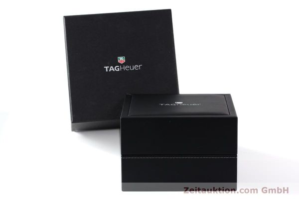Used luxury watch Tag Heuer Carrera chronograph steel automatic Kal. 16 ETA 7750 Ref. CV2011-0  | 143001 06