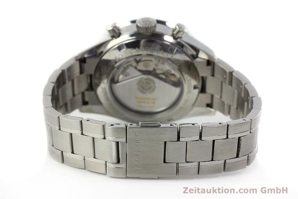 Used luxury watch Tag Heuer Carrera chronograph steel automatic Kal. 16 ETA 7750 Ref. CV2011-0  | 143001 12