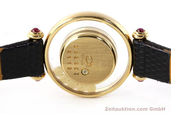 gebrauchte Luxusuhr Chopard Happy Diamonds 18k Gold Quarz Kal. ETA 201001 Ref. 20/4780-21  | 143002 09