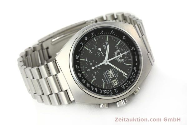 Used luxury watch Omega Speedmaster chronograph steel automatic Kal. 1045  | 143003 03